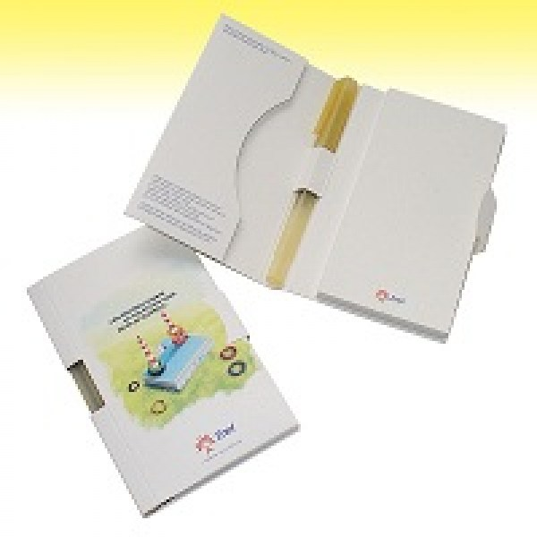 branded eco notepad