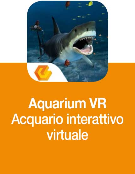 aquarium, gita all'acquario in realtà virtuale