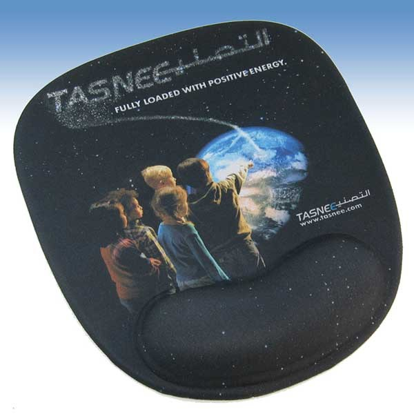 Promotional Mouse pad ergonomic wrist support, taylor made