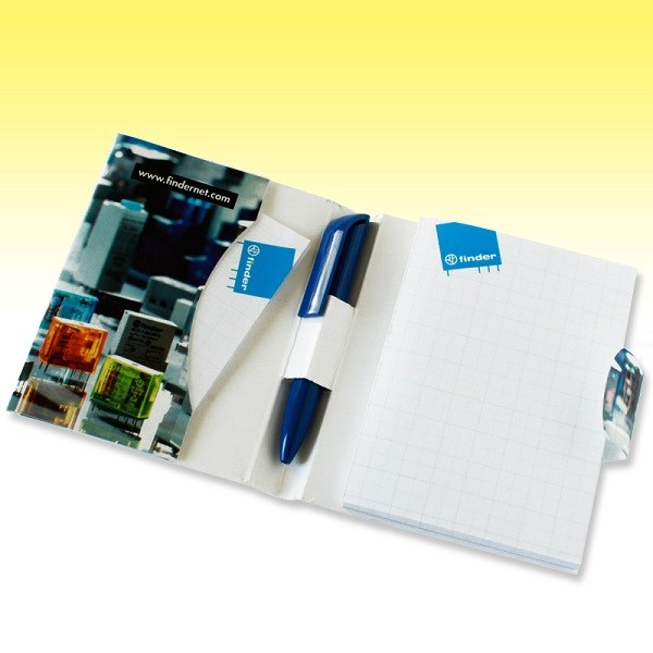 Mini sticky Note-pad with pen