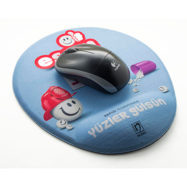 Bespoke Mouse pad with ergonomic sponge wrist support - IBL DOG