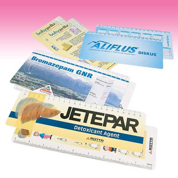 Tailor made promotional ruler
