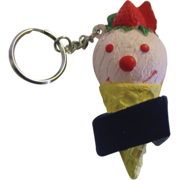 Stress Ice Cream Keyring