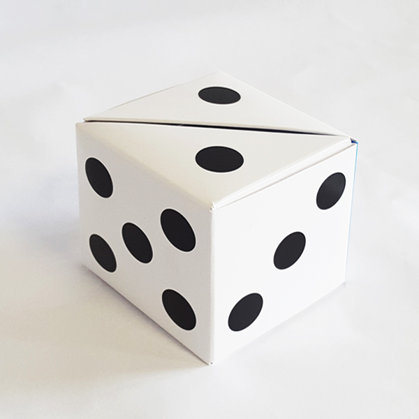 Magic dice organizer. Taylor made notepad