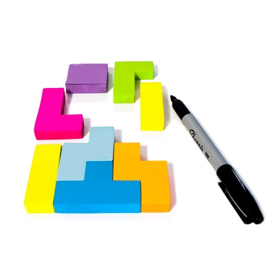Sticky notepad - Tetris