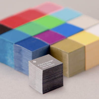 Cubes sticky notes
